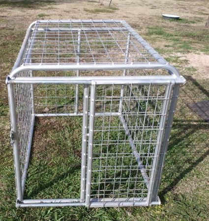 SOLD SOLD Livestock Travel CagePen Great for FFA projects - $175 (Katy)