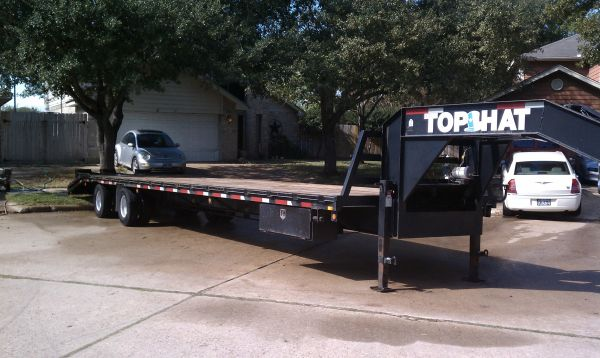 2007 40ft Gooseneck Trailer wDovetail - $8700 (Katy)