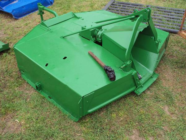 3pt 5 foot heavy duty John Deere brush hog mower - $575 (Magnolia)