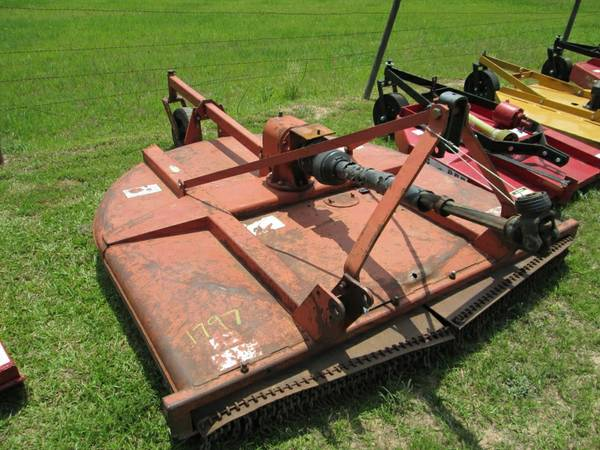 RHINO TW72 6FT HEAVY DUTY BRUSH HOG wSLIP CLUTCH  80HP GEAR BOX - $950 (59N  FM2025)