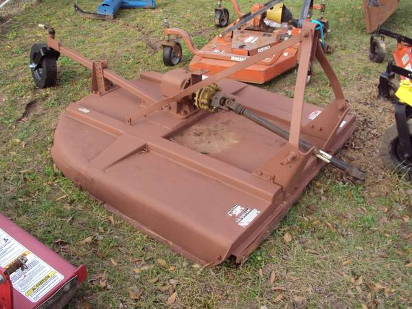3pt heavy duty 5 foot Rhino SE5 brush hog mower - $895 (NW Houston)
