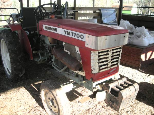 Yanmar Finish Mower : Ym tractor for sale