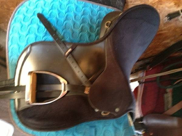 Cleaning out the Tackroom-Saddles - $75 (Magnolia)
