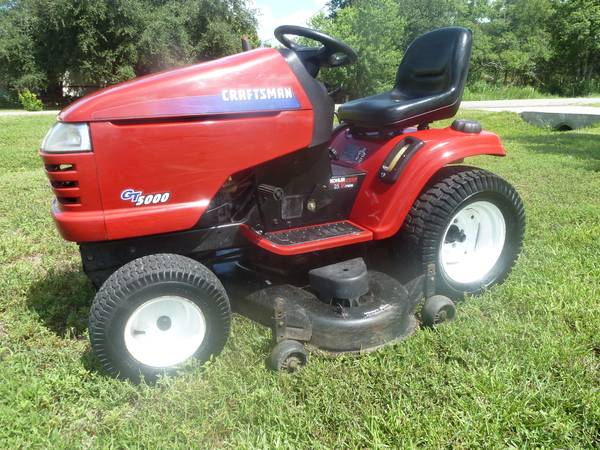 Craftsman Gt5000 Garden Tractor Manual : Craftsman gt garden tractor for sale