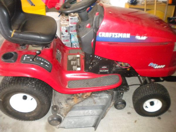 Craftsman DYT 4000 Riding Lawn Mower - $400 (NW-Cypress)