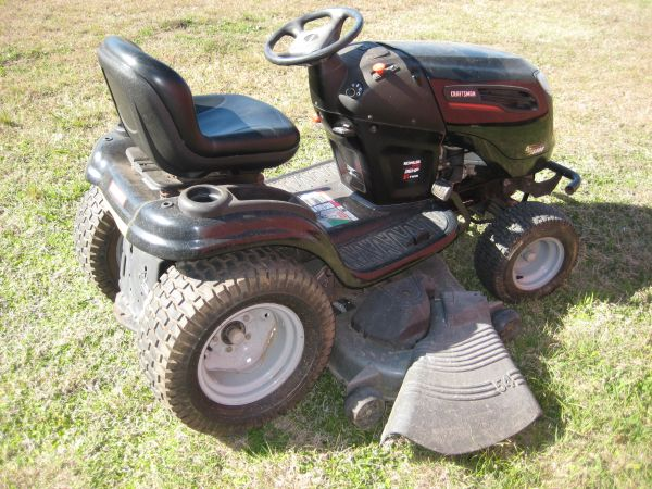 Used Craftsman Tractor Seat : Craftsman garden tractor for sale