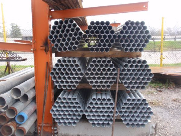 2 38 GALVANIZED PIPE FOR SALE (7207 EASTEX FREEWAY )