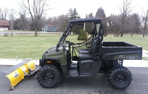 $4,250, 2011 Polaris Ranger XP 800 HD Plow Winch