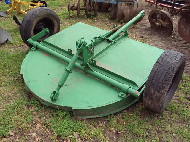 Pull behind 5 foot Corsicana brush hog mower