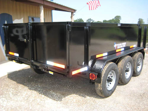 7 595  2015 SAVE BIG 7x16 bumper pull hydraulic dump trailer 21 gvwr