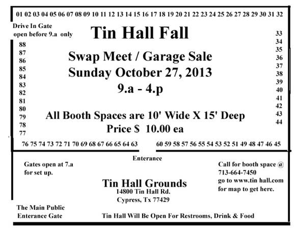 Community Garage Sale and Swap Meet (Tin Hall Cypress, TX)