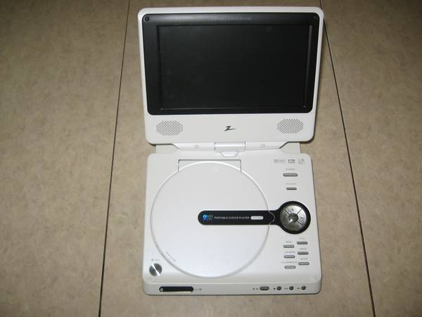 Zenith Portable DVD Player - Model DVP615 - $35 (Mission West - Hwy. 6 at Bellaire Blvd.)