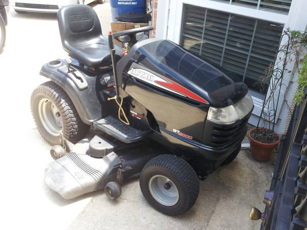 Used Craftsman Tractor Seat : Craftsman gt tractor for sale