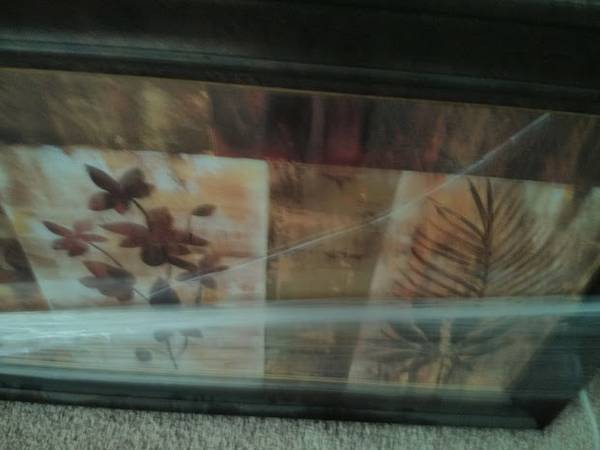Framed picture, very large - $25 (katy)