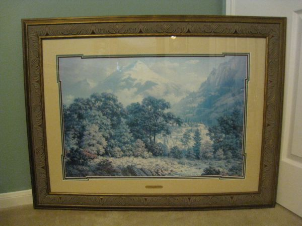 DALHART WINDBERG LIMITED EDITION PRINT - $350 (Cypress, TX)