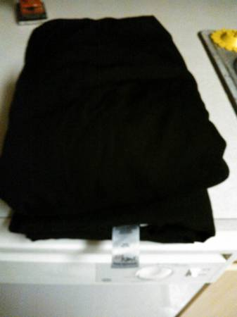 Black Sheet Set - Full Size - JCP - $5 (FM 1960  249290)