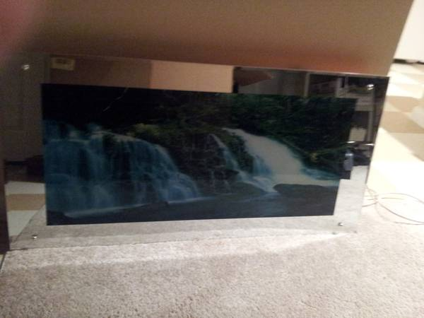 Mirror Framed with moving Waterfall - $75 (Humble)