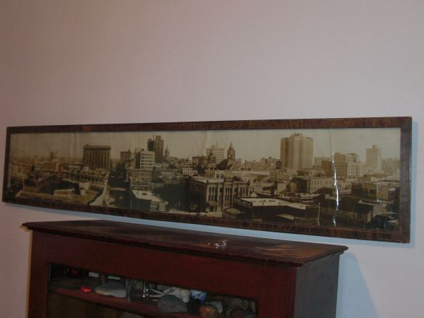 4 FOOT PHOTOGRAPH OF HOUSTON TX TAKEN IN 1917 - $950 (Plover WI)