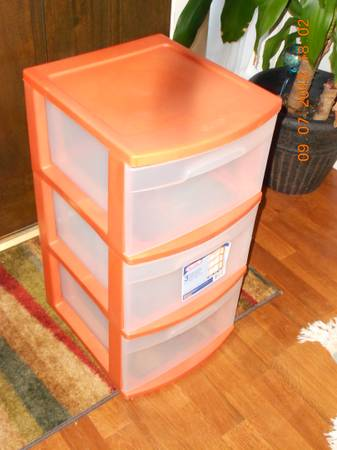 3 drawer storage sterilite dresser organizer - $10 (Hwy 249 and Spring Cypress Exit)