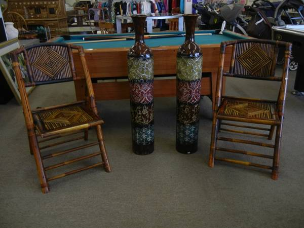 Large Oriental Vases STORE CLOSING SPECIAL - $40 (From Our Home To Yours)