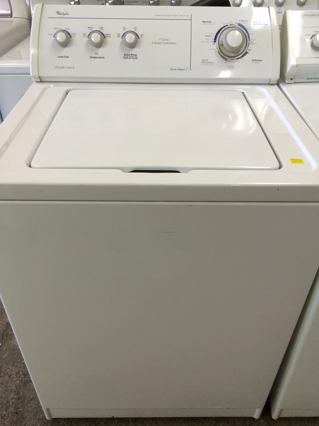 $220, Whirlpool Ultimate Care II Washer in White