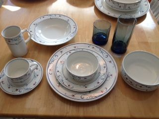 Mikasa China Set Annette Pattern - $400 (Cypress)