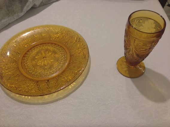 Tiara dishes (plates and cups) - $80 (South west houston)