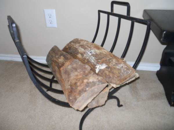 Firewood Stand - $25 (Pearland)