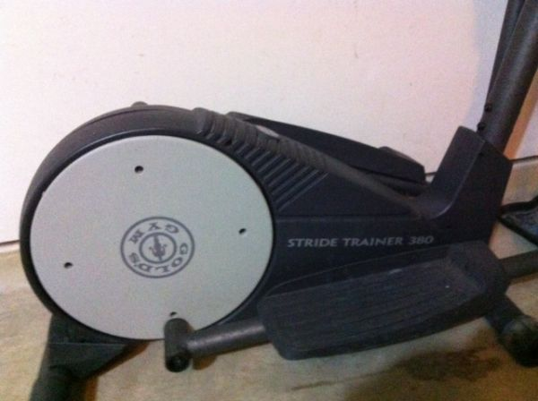 Golds Gym Stridetrainer 380 Elliptical Trainer - $200 (KATY WEST HOUSTON)