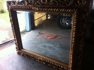 LARGE MIRROR-FRAME (PEARLAND)