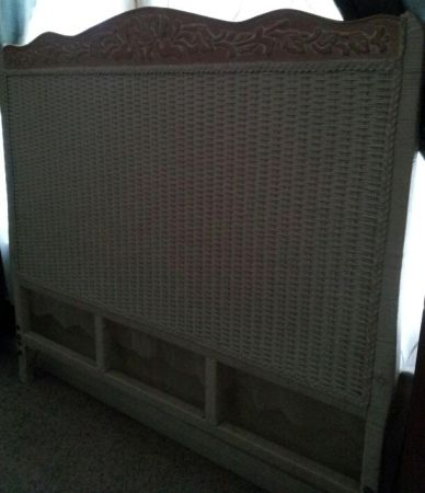 Pier 1 full size headboard for cheap MUST GO - $35