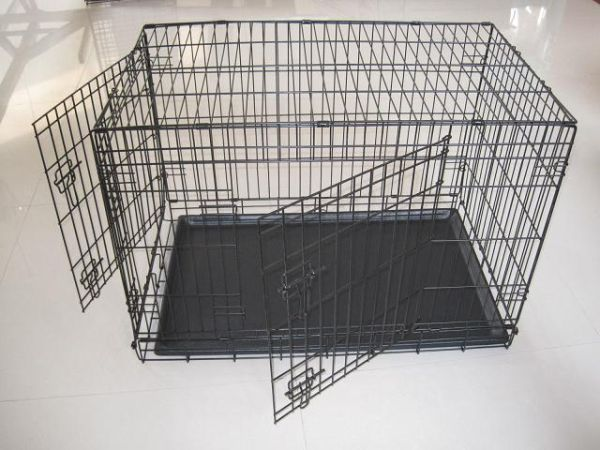 Brand New X-Large 48 Portable Metal Dog Pet Crate Cage Kennel - $75 (Houston, Tx)