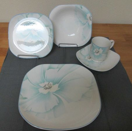 Sango Interlude Square Dish Sets, signed by designer - $20 (249 near Vintage Park)