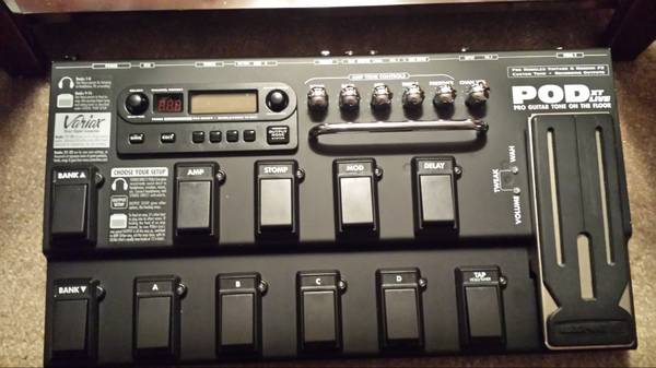 Line 6 POD Pro XT LIVE Multi Effects Pedal w Bag - $200 (West Houston)