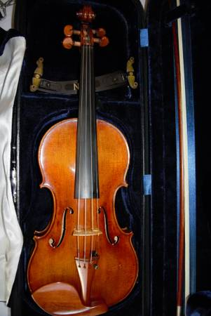 Thomas Krafft full violin - $2000 (houston)