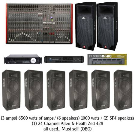 band pa set up - $4500 (North West Houston)