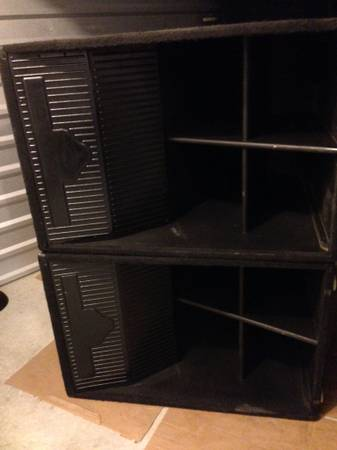 2 EL-36 cerwin-vega subs - $700 (springn houston)