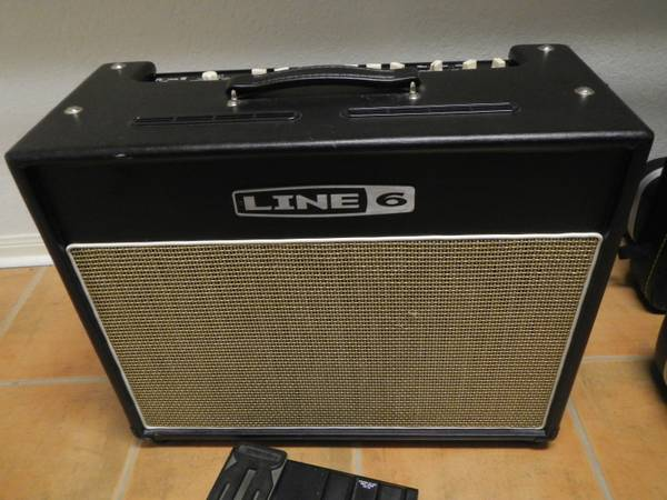 LINE 6 FLEXTONE 3 III WITH FOOTPEDAL WAH COSM MODELING EFFECTS A - x0024350