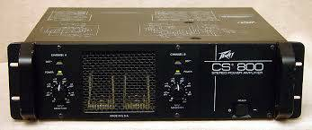 PEAVEY CS 800 STEREO POWER AMPLIFIER - $90 (Humble-Atascocita)