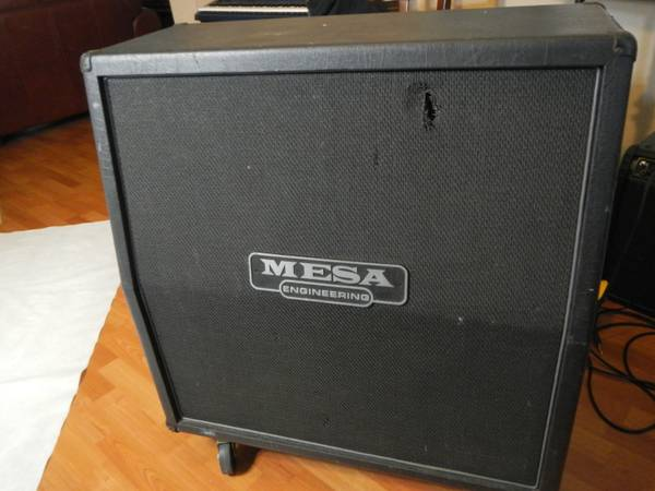 fsot Mesa Boogie 4FB 4x12 RECTIFIER Cabinet w Celestion Vintage 30s - $500 (pearland)