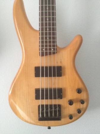 Ibanez soundgear 5 string bass - $500 (League city)