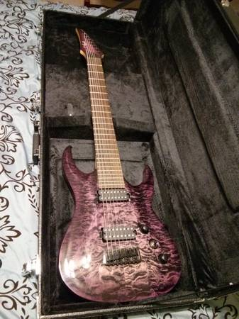 Agile Septor 828 RN - 8 String Guitar - $500 (Houston, TX)