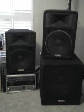 DJ sound system excellent condition - x00241350 (Clear Lake)