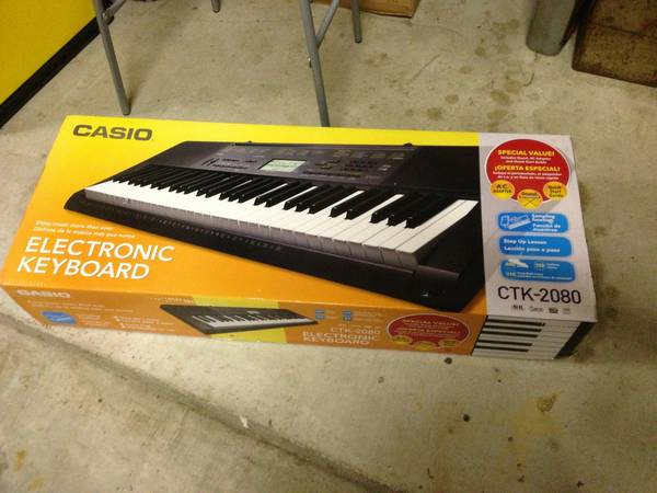 Casio Electronic Keyboard CTK-2080 (NEW) - $80 (Lake Jackson)