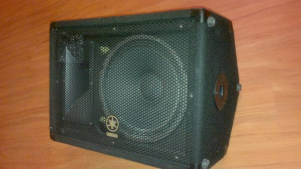GTD Audio PA, Yamaha BR-12 Monitor (missouri city)