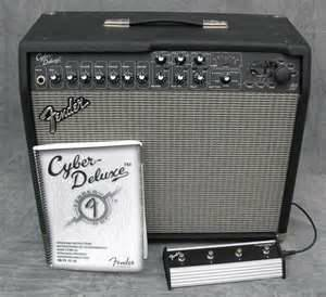 Cyber-Deluxe Digital Guitar Amplifier wfootpedel - $275 (sugarland)