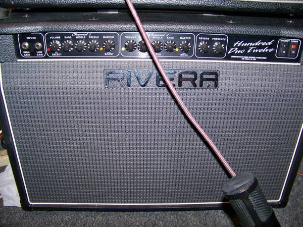 RIVERA Hundred Duo Twelve Vintage Tube Guitar AMP  - $500 (East Downtown)