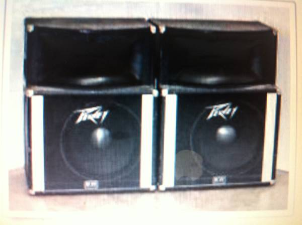 Peavey Speakers SP- 2A - $450 (Houston)