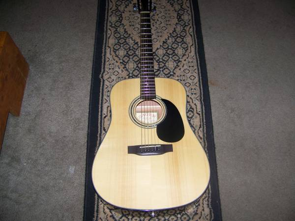AcousticElectric Guitar Zager ZAD 20 - $400 (MagnoliaTomball)