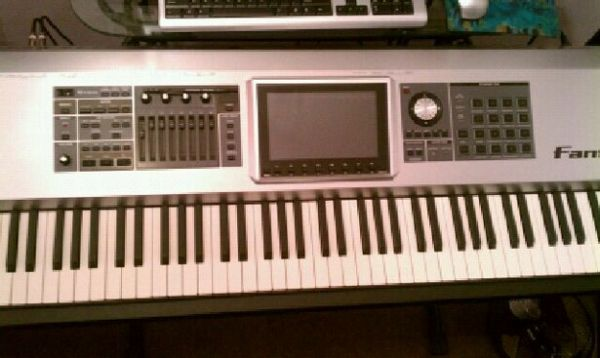 Complete Set Up Roland Fantom G8 Workstation With Monitors and Stands - $3499 (Houston Katy Tx Near I10 West Fry Rd)